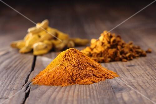 Turmeric (root and powder)