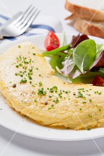 An omelette