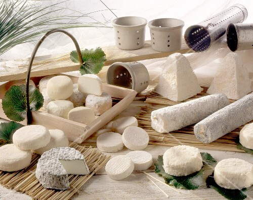 Various goat's cheeses