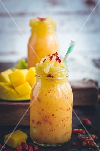 Mango and chilli smoothie