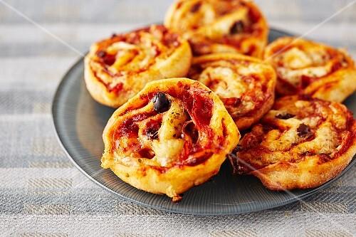 Pizza bites (finger food)