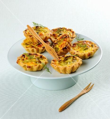 Corn tartlets