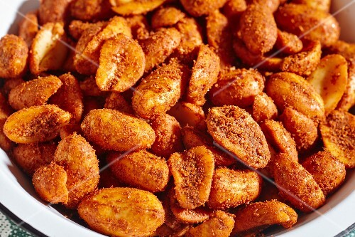 Chilli nuts (Mexican snack)