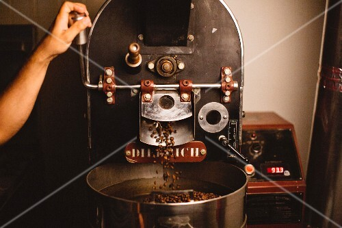 A coffee roaster