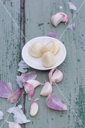Cloves of garlic