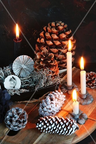 Alternative Advent wreath
