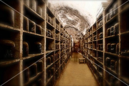 Old port wines in the cellar of the Niepoort winery, Portugal