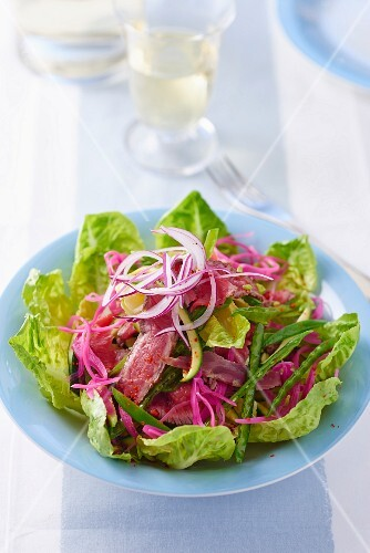 Beef salad with onions (Thailand)
