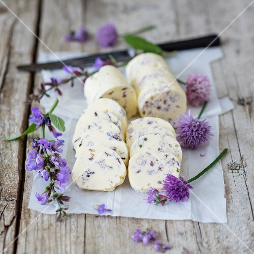 A duo of floral butter