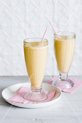 Summer smoothies for breakfast