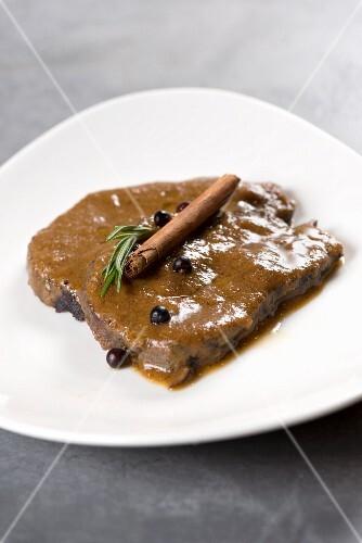 Brasato di manzo (braised beef, Italy)