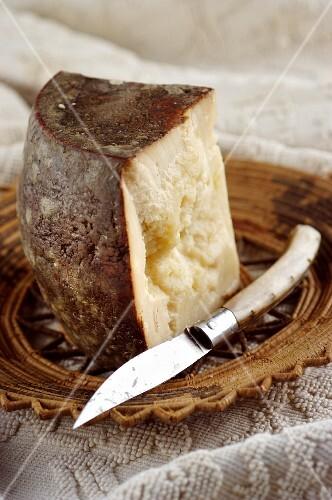 Fiore sardo (Sardinian sheep's cheese, Italy)
