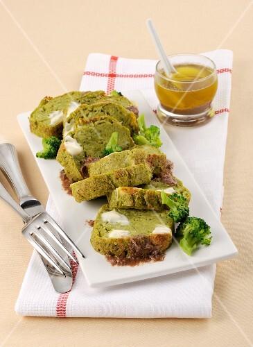 Broccoli terrine