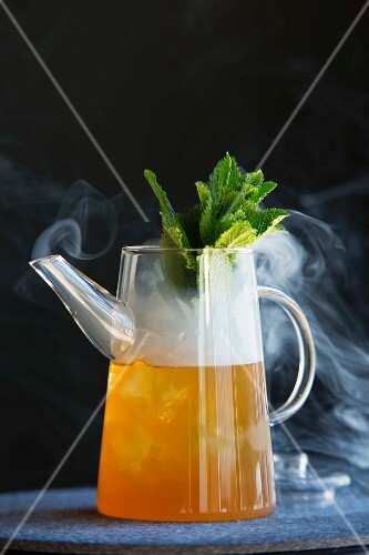 'Smoked Ice Tea' cocktail from the 'Bryk Bar' in Berlin