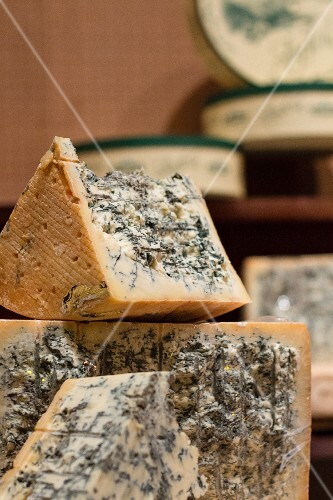 Blue cheese from Italy