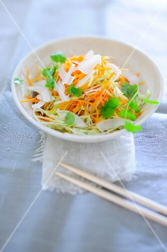 Coleslaw with coriander
