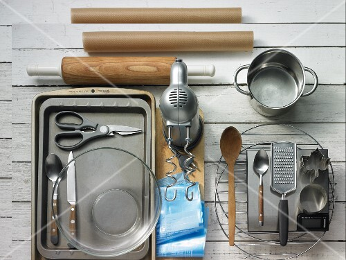 Kitchen utensils for making biscuits