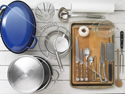 Kitchen utensils for making roast goose