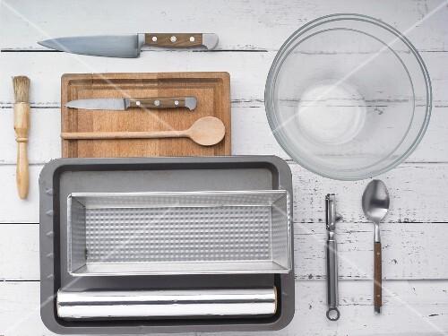 Kitchen utensils for making terrines