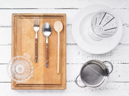 Kitchen utensils for making porridge