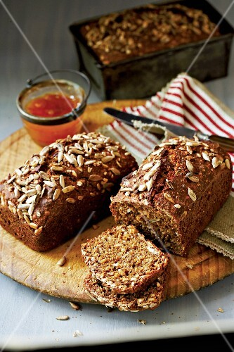 Wholemeal bread loaf