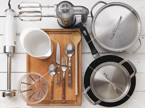 Kitchen utensils for preparing vegetables