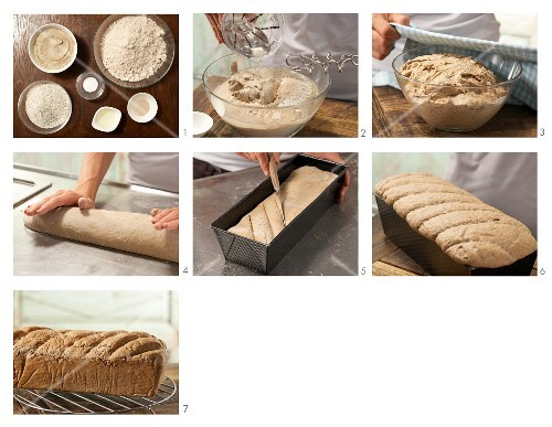 How to prepare mixed wheat bread