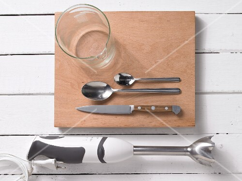 Utensils for a mixed drink