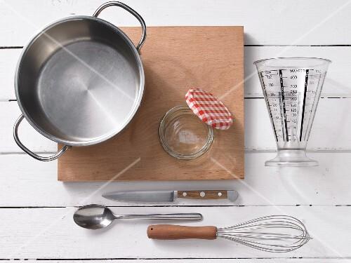 Utensils for pudding