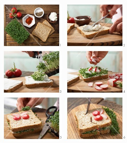 How to prepare a monster sandwich