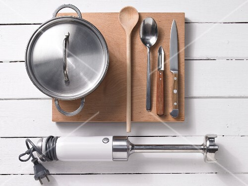 Kitchen utensils for preparing baby food