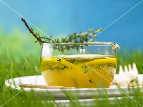 Thyme & honey marinade