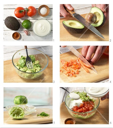 How to prepare avocado dip