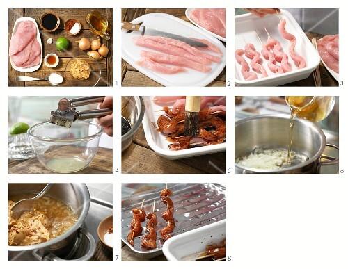 How to prepare turkey kebabs