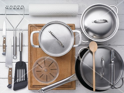 Utensils for Labskaus (a traditional dish from Northern Germany)