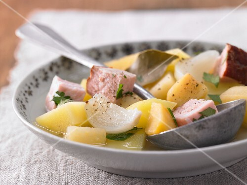 Swede stew with gammon