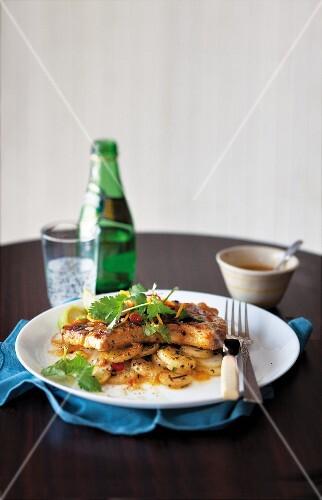 Pork chops with ginger & orange marinade