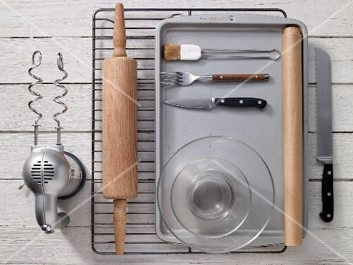 Kitchen utensils for preparing scones