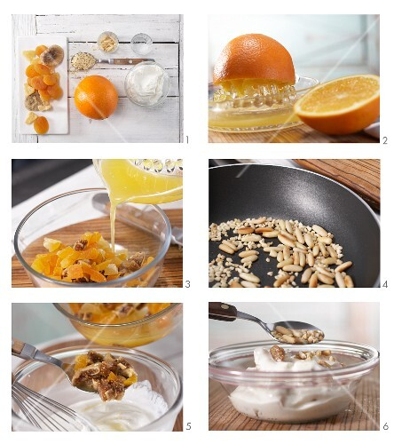 How to prepare fruit quark