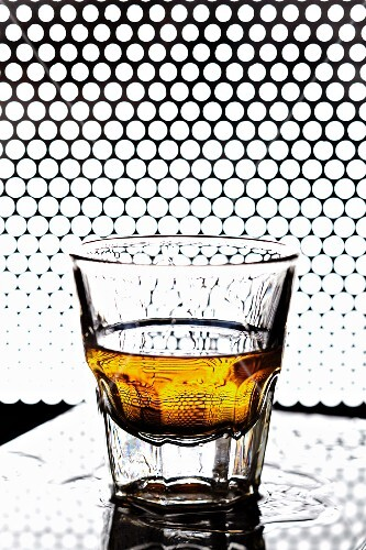 A glass of whisky