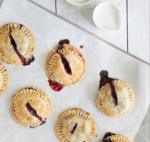 Hand pies with a berry filling