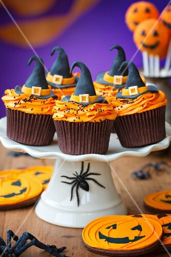 Cupcakes for a halloween party
