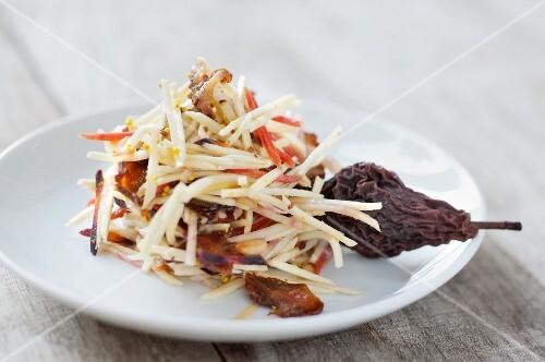 Parsnip & carrot salad