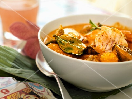 Spicy fish soup (Asia)