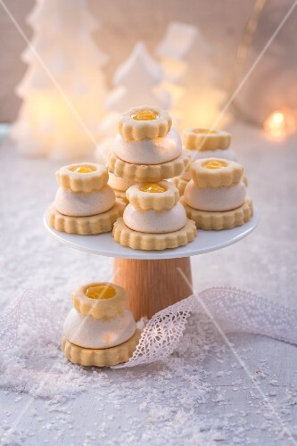 Zitronentörtchen (weihnachtlich)