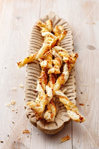 Cheese straws with fennel