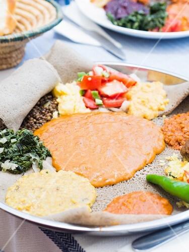 Ethiopian fasting food