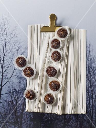 Espresso truffles with honey for Christmas