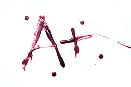 A-positive blood,conceptual image
