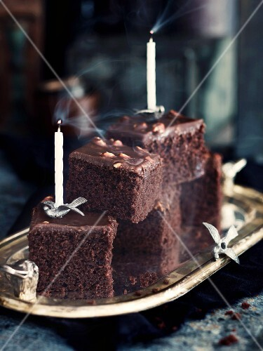 Schokoladenkuchen Fur Den Kindergeburtstag Bild Kaufen 12101183